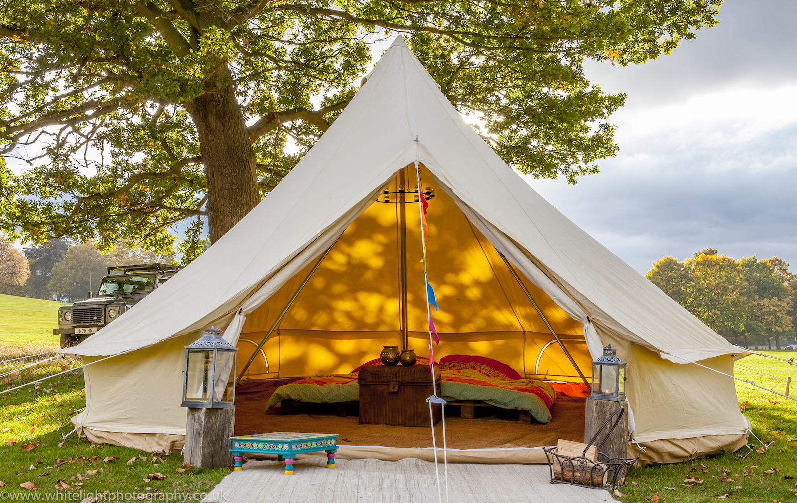 Bell tents for hire Surrey